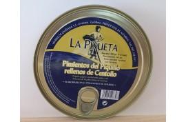 PIMIENTOS RELLENOS DE CENTOLLO 280 GRS LA PIXUETA