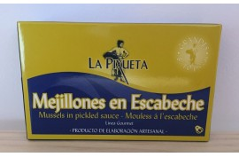 MEJILLONES EN ESCABECHE LA PIXUETA 120 GRS