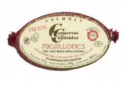 MEJILLONES GALLEGOS EN ESCABECHE GRANDES 8/12 120 GRS