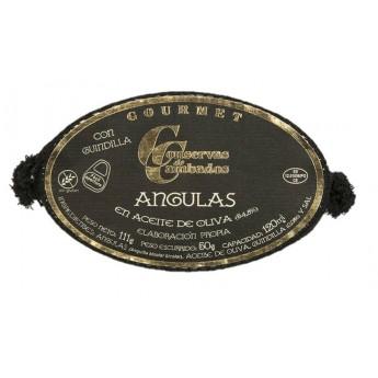 ANGULAS EN ACEITE DE OLIVA 120 GR