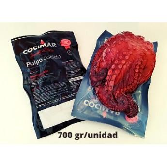 PULPO COCIDO 600 GRS