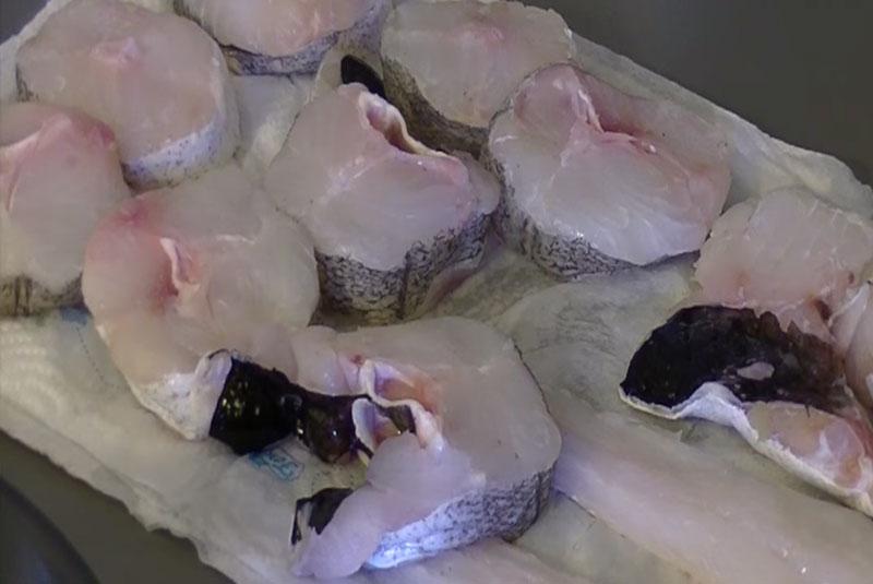 rodajas de merluza para cocinar