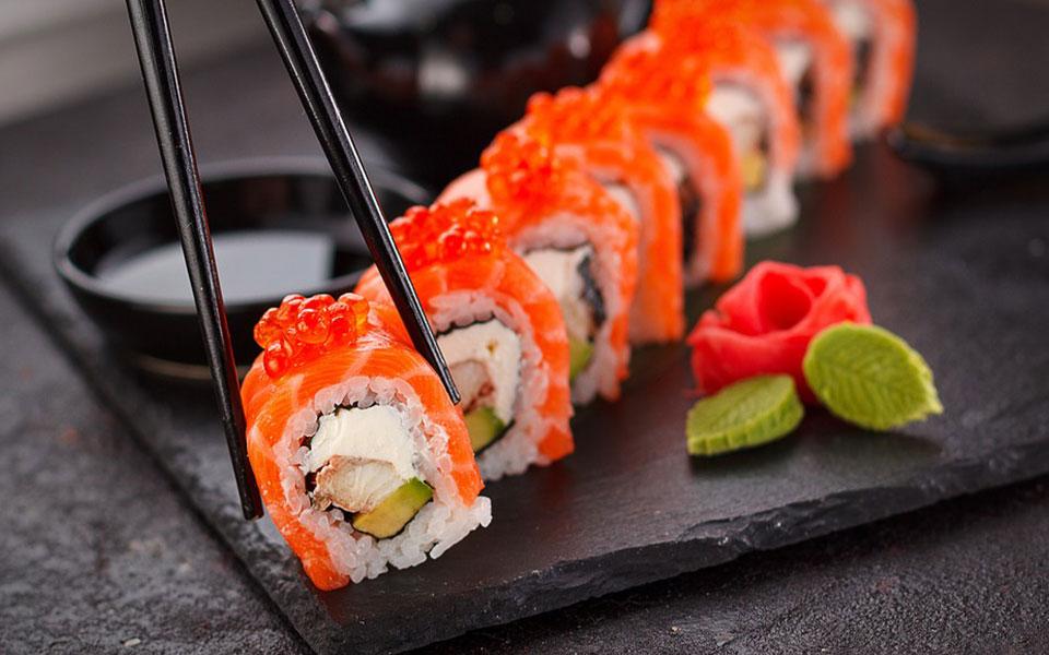 pescado congelado shushi